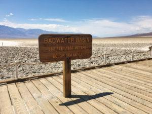 Badwater Basin Day Trip Las Vegas Death Valley