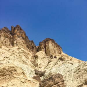 Golden Canyon to Red Cathedral Hiking Trail Death Valley